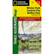 Winter Park / Central City / Rollins Pass from Colorado Maps Store