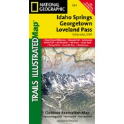 Idaho Springs / Loveland Pass from Colorado Maps Store