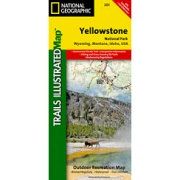 Yellowstone National Park from Wyoming Maps Store