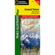 Grand Teton National Park from Wyoming Maps Store