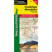 Guadalupe Mountains National Park from Texas Maps Store