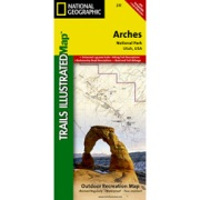 Arches National Park from Utah Maps Store