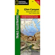 Glen Canyon National Recreation Area / Capitol Reef National Park from Utah Maps Store