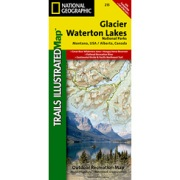 Glacier / Waterton Lakes National Parks from Montana Maps Store