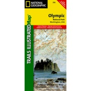 Olympic National Park from Washington Maps Store
