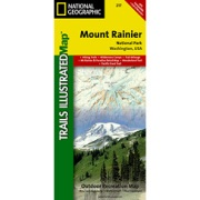 Mount Rainier National Park from Washington Maps Store
