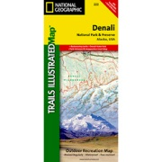 Denali National Park and Preserve from Alaska Maps Store