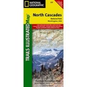 North Cascades National Park from Washington Maps Store