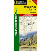 Organ Pipe Cactus National Monument from Arizona Maps Store