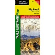 Big Bend National Park from Texas Maps Store