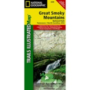 Great Smoky Mountains National Park from Tennessee Maps Store