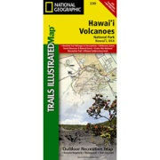 Hawaii Volcanoes National Park from Hawaii Maps Store