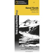 Kenai Fjords National Park from Alaska Maps Store