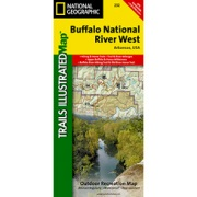 Buffalo National River West from Arkansas Maps Store