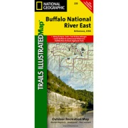 Buffalo National River East from Arkansas Maps Store