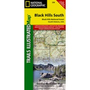 Black Hills National Forest, Southeast, Windcave National Park from South Dakota Maps Store