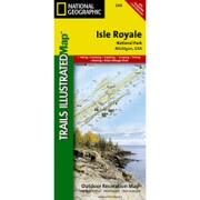 Isle Royale National Park from Michigan Maps Store