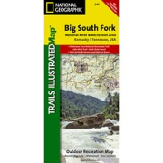 Big South Fork National Recreation Area from Kentucky Maps Store