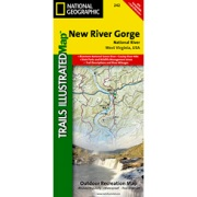 New River Gorge National River from Virginia Maps Store