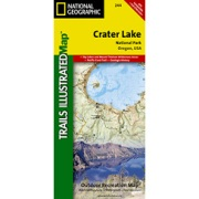 Crater Lake National Park from Oregon Maps Store
