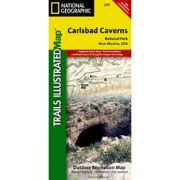 Carlsbad Caverns National Park from New Mexico Maps Store