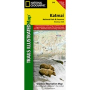Katmai National Park and Preserve from Alaska Maps Store