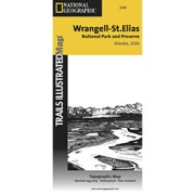 Wrangell / St. Elias National Park from Alaska Maps Store