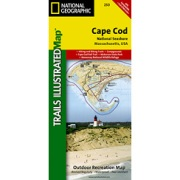 Cape Cod National Seashore from Massachusetts Maps Store