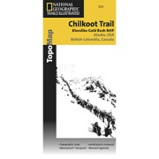 Chilkoot Trail / Klondike Gold Rush from Alaska Maps Store