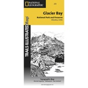 Glacier Bay National Park from Alaska Maps Store