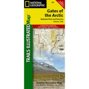 Gates of the Arctic from Alaska Maps Store
