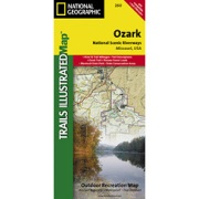 Ozark National Scenic Riverways from Missouri Maps Store