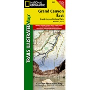 Grand Canyon East from Arizona Maps Store