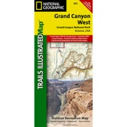 Grand Canyon West from Arizona Maps Store