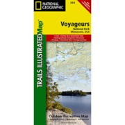 Voyageurs National Park from Minnesota Maps Store