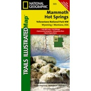 Yellowstone NW / Mammoth Hot Springs from Wyoming Maps Store