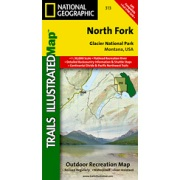 North Fork - Glacier National Park from Montana Maps Store