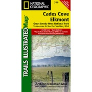 Cades Cove / Elkmont, Great Smoky Mountains National Park from Tennessee Maps Store