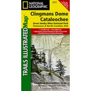 Clingman's Dome / Cataloochee, Great Smoky Mountains National Park from Tennessee Maps Store