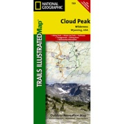 Cloud Peak Wilderness from Wyoming Maps Store