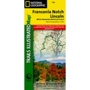 Franconia Notch / North Conway, White Mountains National Forest in New Hampshire Map Store