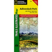 Lake Placid / High Peaks, Adirondack Park from New York Maps Store
