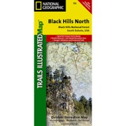 Black Hills National Forest, Northeast from South Dakota Maps Store