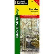 Hoosier National Forest from Indiana Maps Store