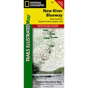 New River Blueway in West Virginia Map Store