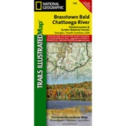 Brasstown Bald / Chattooga River, Chattahoochee National Forest from Georgia Maps Store