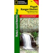 Pisgah Ranger District, Pisgah National Forest from North Carolina Maps Store