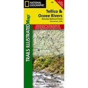 Tellico and Ocoee Rivers, Cherokee National Forest from Tennessee Maps Store