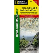 French Broad and Nolichucky Rivers, Cherokee & Pisgah N.F.s from Tennessee Maps Store