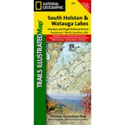 South Holston and Watauga Lakes, Cherokee & Pisgah N.F.s from North Carolina Maps Store